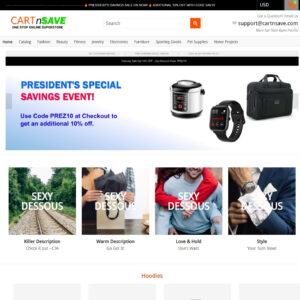 CartnSave Ecommerce